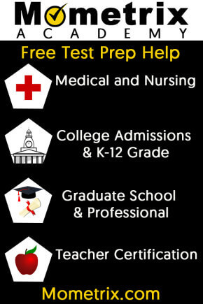 Free test prep practice questions and review videos for the SAT, ACT, PSAT, TEAS, GMAT, GRE, LSAT, MCAT, HESI A2 and NCLEX tests.