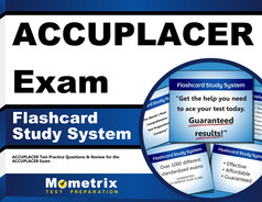 ACCUPLACER Study Flashcards