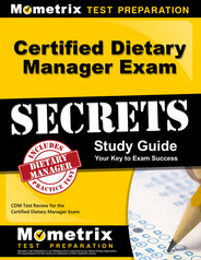Certified Dietary Manager Study Guide