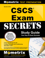 CSCS Practice Exam (updated 2019) CSCS Certification Review
