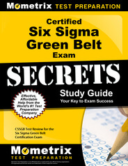 Certified Six Sigma Green Belt Study Guide