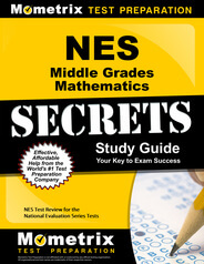 NES Middle Grades Mathematics Study Guide