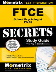 FTCE School Psychologist PK-12 Study Guide
