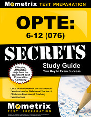 OPTE: 6-12 Study Guide