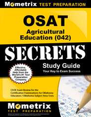 OSAT Agricultural Education Study Guide