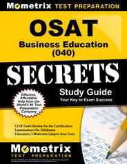 OSAT Business Education Study Guide
