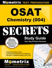 OSAT Chemistry Study Guide