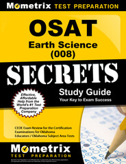 OSAT Earth Science Study Guide