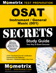 OSAT Instrumental/General Music Study Guide