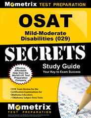 OSAT Mild-Moderate Disabilities Study Guide