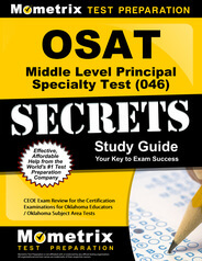 OSAT Middle Level Principal Comprehensive Assessment Study Guide