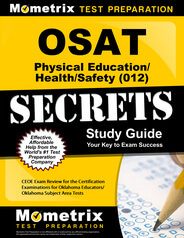 OSAT Physical Education/Health/Safety Study Guide