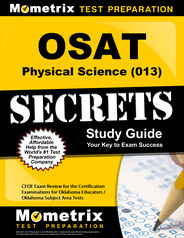 OSAT Physical Science Study Guide