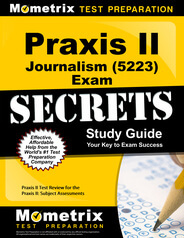 Praxis II Journalism Study Guide