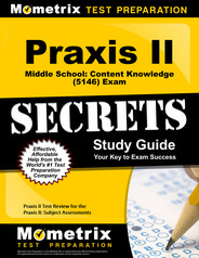 Praxis II Middle School: Content Knowledge Study Guide