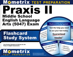 Praxis Middle School English Language Arts (5047) Flashcards