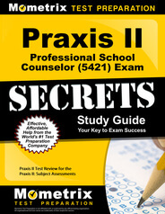 Praxis II Professional School Counselor Study Guide
