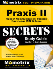 Praxis II Speech Communication: Content Knowledge Study Guide
