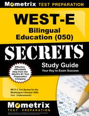 WEST-E Bilingual Education Study Guide