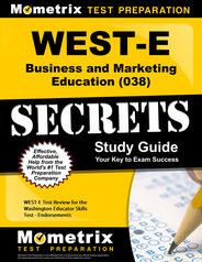 WEST-E Business and Marketing Education Study Guide