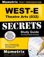 WEST-E Theatre Arts Study Guide