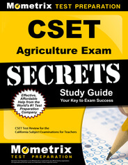 CSET Agriculture Study Guide