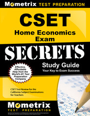CSET Home Economics Study Guide