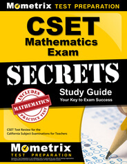 CSET Mathematics Study Guide
