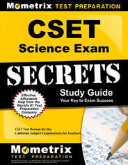 CSET Science Study Guide