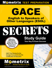 GACE English to Speakers of Other Languages Study Guide