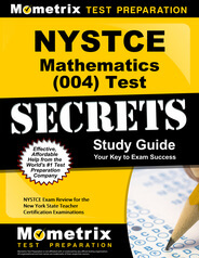NYSTCE Mathematics Study Guide
