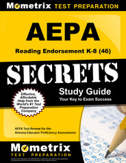 AEPA Reading Endorsement K-8 Study Guide