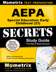 AEPA  Special Education: Early Childhood Study Guide
