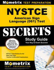 NYSTCE American Sign Language Study Guide