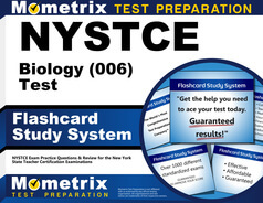 NYSTCE Biology Flashcards