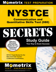NYSTCE Communication and Quantitative Skills Test Study Guide
