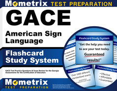 GACE American Sign Language flashcards