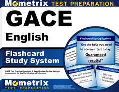 GACE English Flashcards