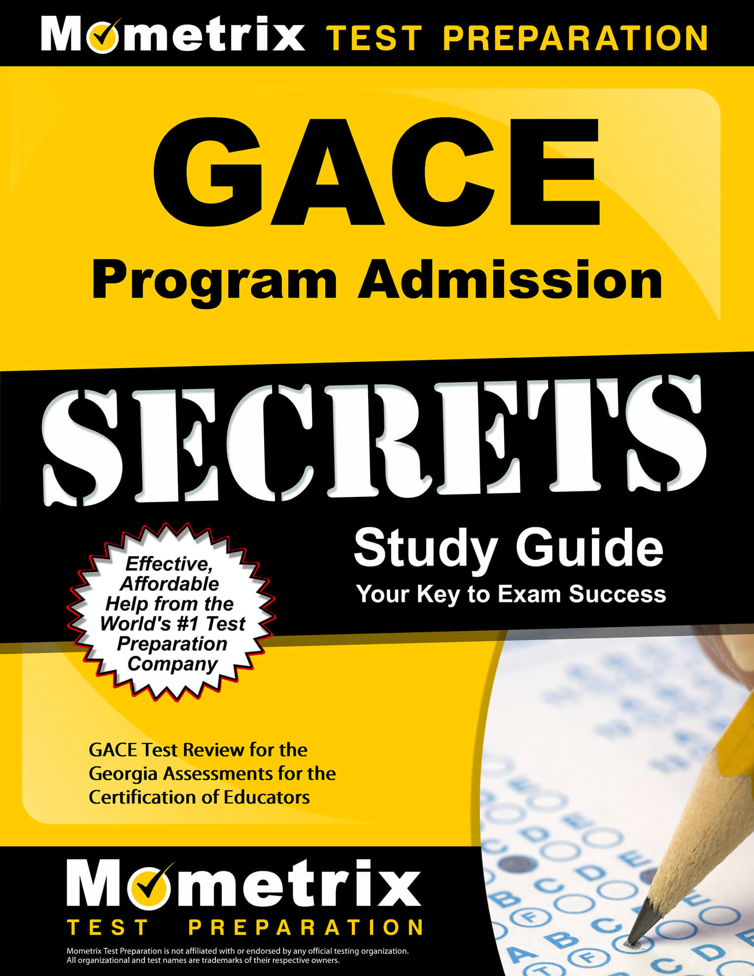 GACE Program Admission Study Guide