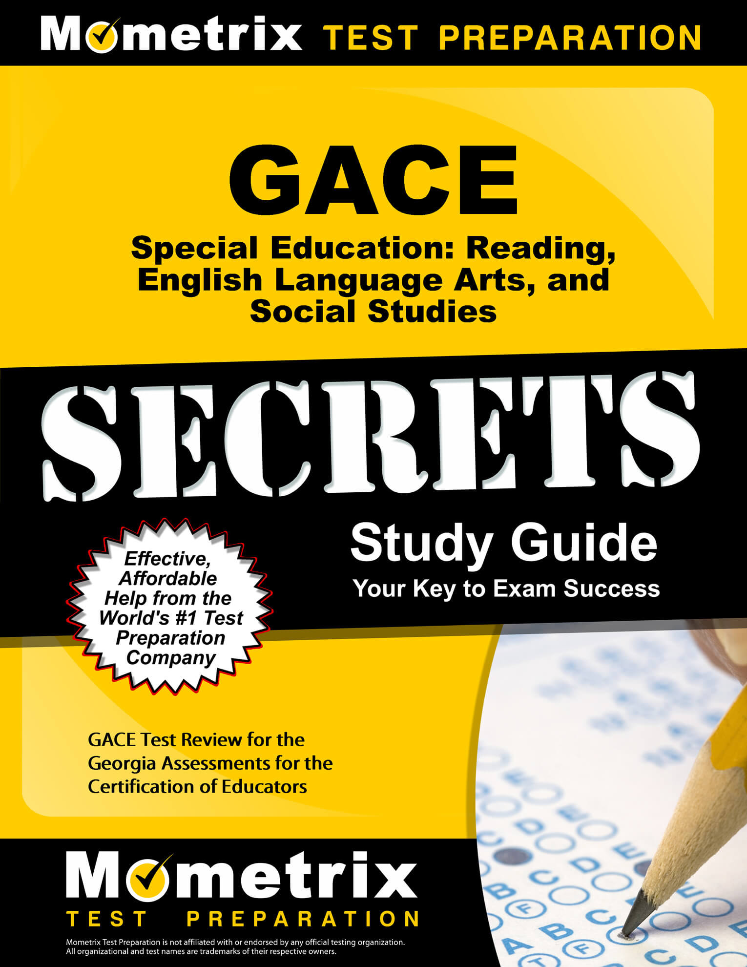 GACE Special Education Reading, English Language Arts, and Social Studies Study Guide