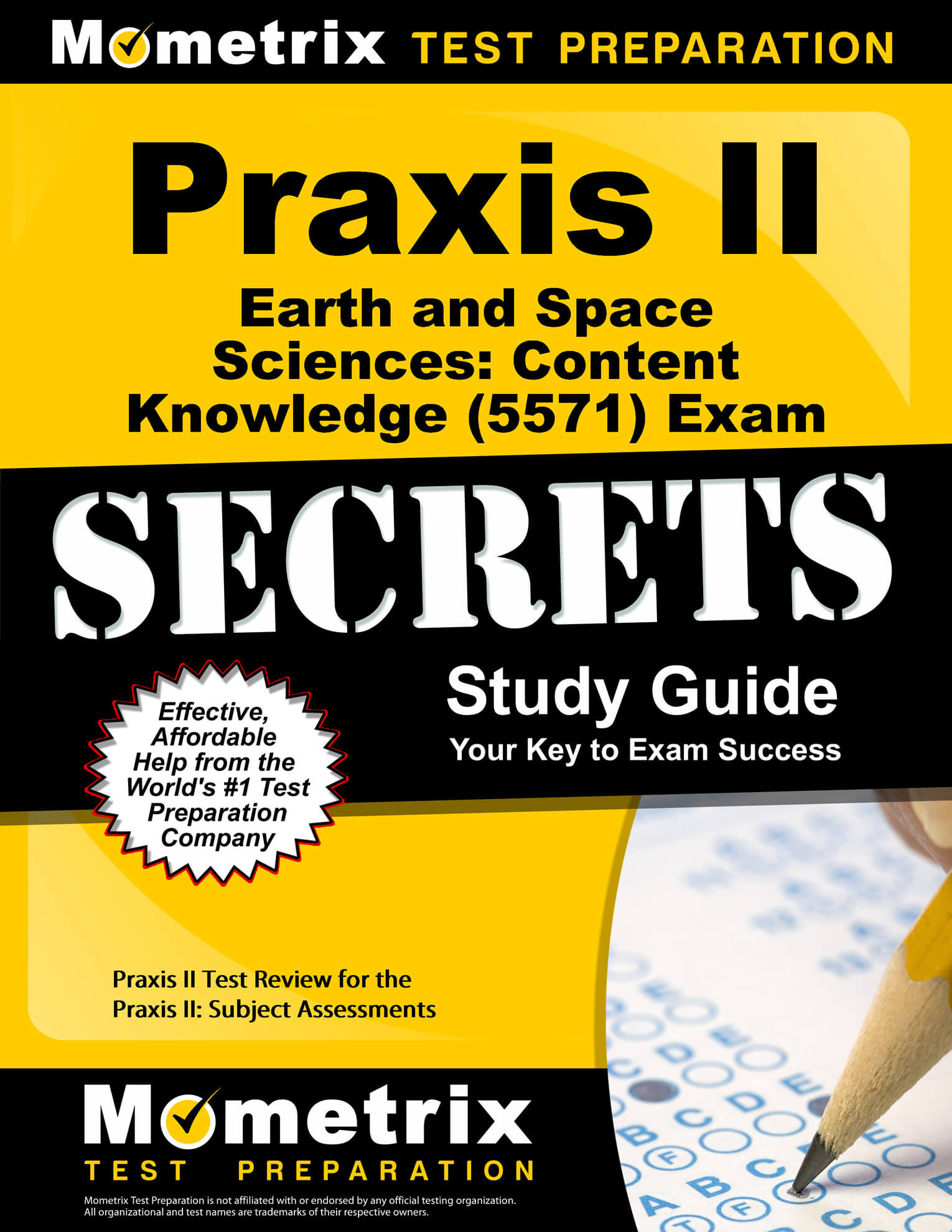 Praxis II Earth and Space Sciences: Content Knowledge Study Guide