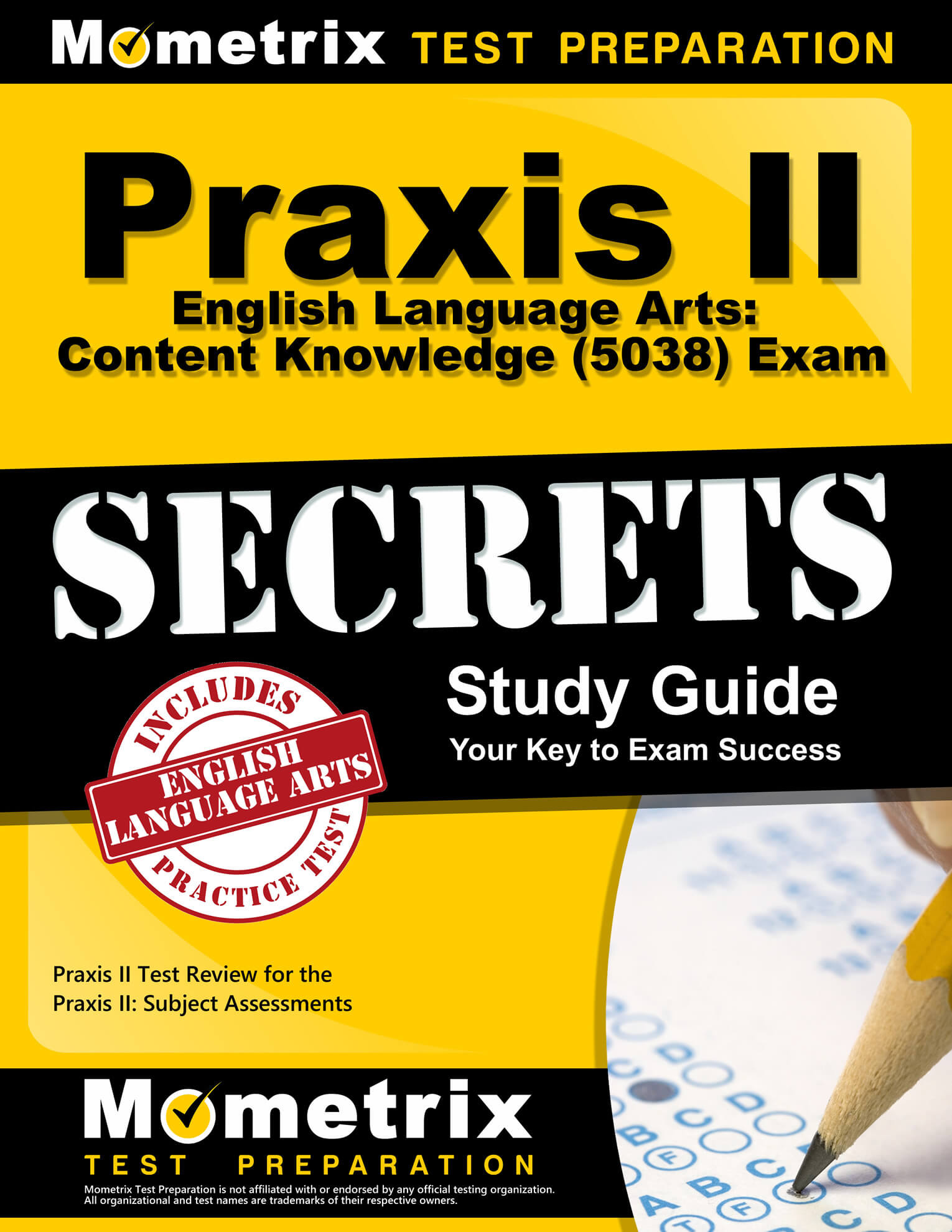 Praxis II English Language Arts: Content Knowledge Study Guide