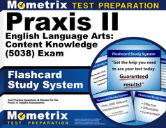 Praxis II English Language Arts: Content Knowledge Flashcards