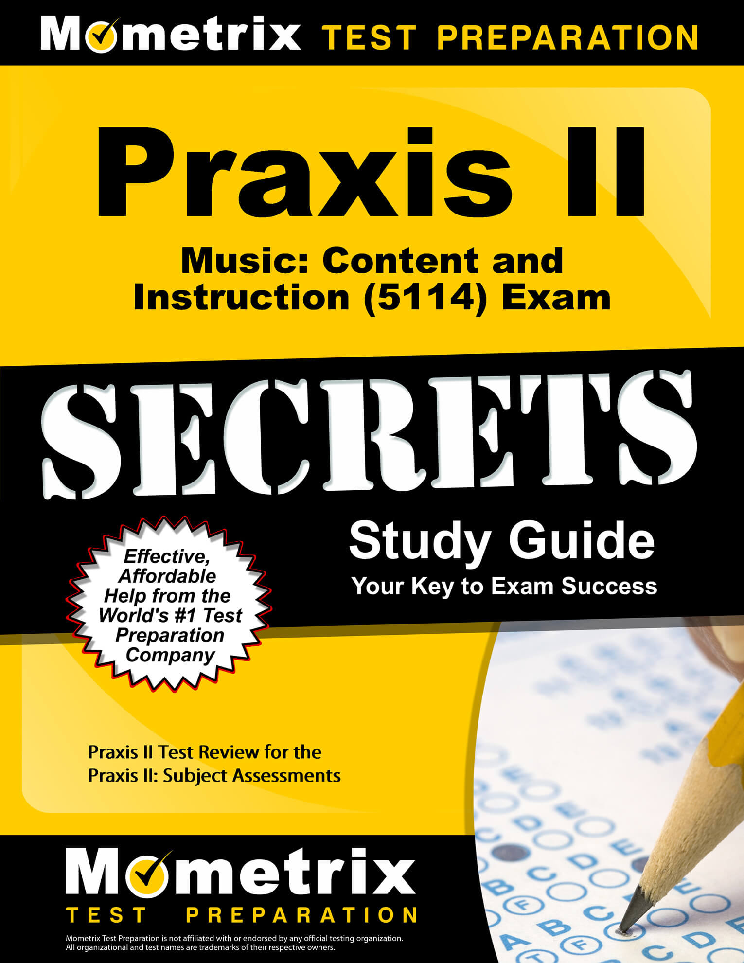 Praxis II Music: Content and Instruction Study Guide