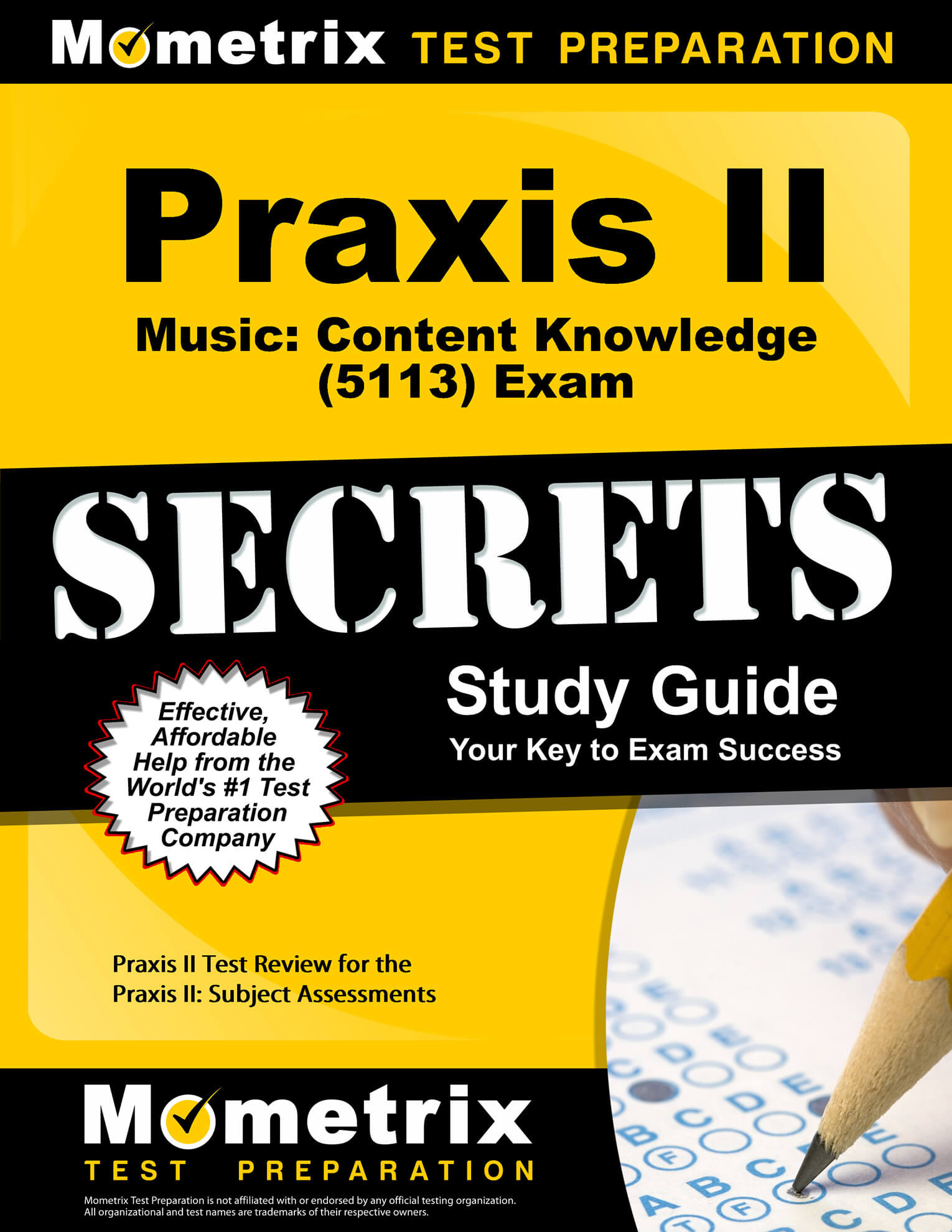 Praxis II Music: Content Knowledge Study Guide
