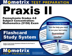 Praxis II Pennsylvania Grades 4-8 Subject Concentration: Mathematics Flashcards