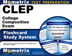 best clep college composition practice test clep college composition flashcard study system
