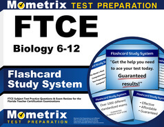 FTCE Biology 6-12 Flashcards