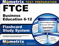 FTCE Business Education 6-12 Flashcards