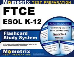 FTCE ESOL K-12 Flashcards